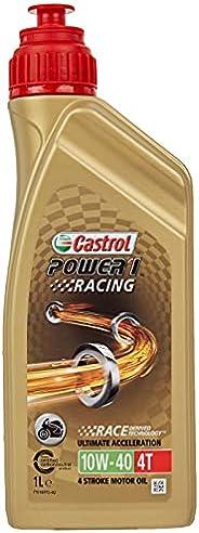 Óleo de Moto Castrol Power 1 Racing 10w40 4T Sintético API S