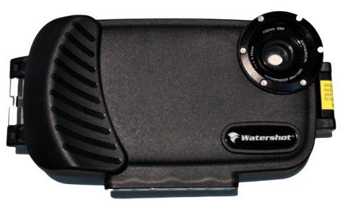 iPhone 5c Waterproof Underwater Housing Case by Watershot - Black