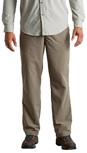 Ex Hiking Officio Shorts (ExOfficio Men's Sol Cool Nomad Lightweight Casual Pants, Falcon, Size 34)