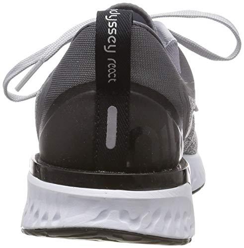 Nike Men's Odyssey React Running Shoe, Wolf Grey/Black-Dark Grey-Pure Platinum, 7.5 by Nike (Image #2)