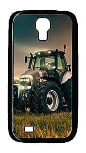 Samsung Galaxy S4 Case,Customize Ultra Slim Lamborghini R8 Tractor Hard Plastic PC Blcak Case Bumper Cover for S4