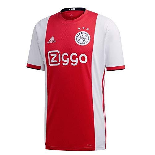 adidas 2019-2020 Ajax Home Football Soccer T-Shirt Jersey