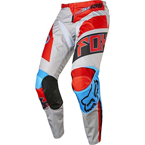 2017 Fox Racing 180 Falcon Pants-Grey/Red-36 by Fox Racing