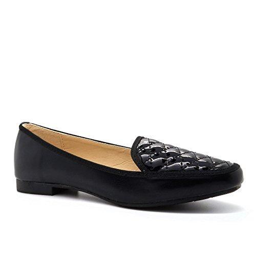 London Footwear - Sandalias con cuña mujer negro