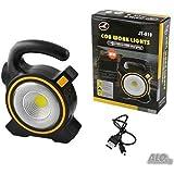 Luminária Lampião de Led Lanterna Solar USB Recarregável Camping JY-819A