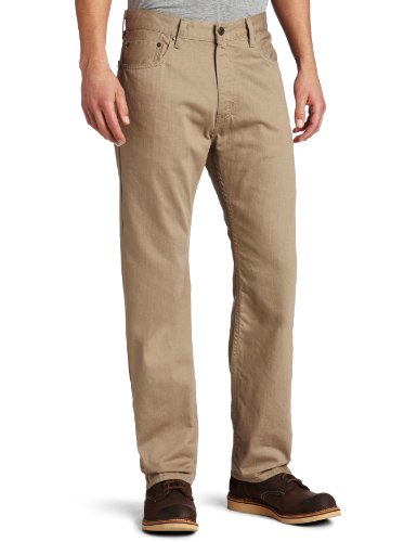 Levi's Men's 505 Regular Fit Twill Pant, Timberwolf, 38x34