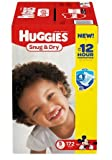 Huggies Size 5 Snug & Dry 4 Layer Leak Lock Diapers 172 ea-Pack of 2