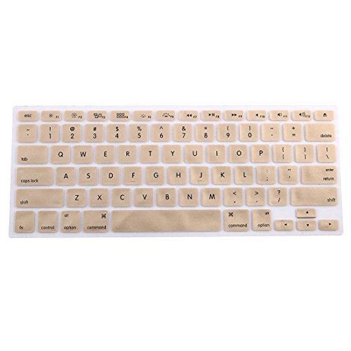 Amazon.com: eDealMax teclado de silicona Protector de la piel cubierta del ordenador portátil inalámbrica Bluethooth Brown Para el iMac: Electronics