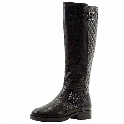 Donna Karan DKNY Women's Nadia Black Fashion Knee-High Boots Shoes Sz: - Ladies Boots Dkny