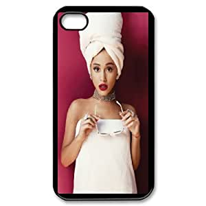 Ariana Grande DIY phone Case case For iPhone 4,4S QWER83312