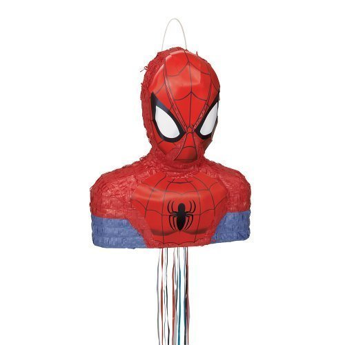 Spiderman Ultimate Pinata, Pull String Model: 46378 by Toys & Child