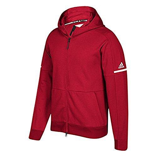 GB SQUAD ID JACKET PWR RED/WHT by adidas