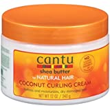 Cantu Shea Butter Coconut Curling Cream, 12 oz(340 g) - 2 pack
