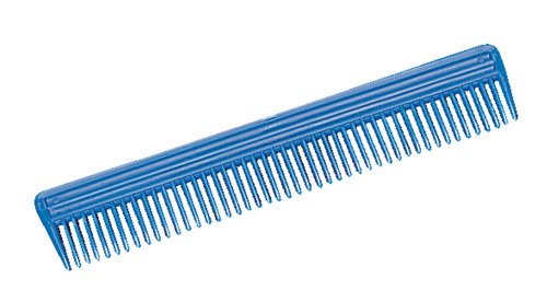 (Weaver Leather Plastic Animal Comb, Blue, 9-Inch )