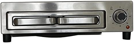 Avanti Products PPO12X3S-IS Pizza Oven, 6 H x 18.75 W x 14.75 D, Stainless Steel