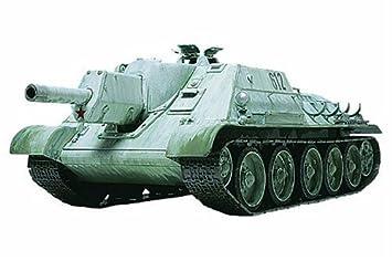 Tamiya 32527 - Maqueta Para Montar, Tanque Ruso SU-122 Año ...