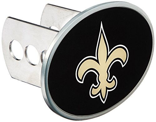 NFL New Orleans Saints Oval Hitch Cover, Class II & III