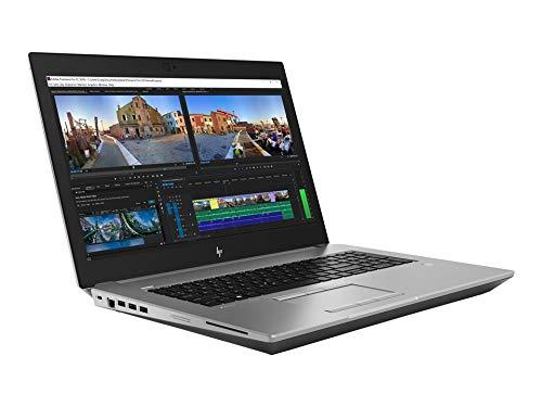 HP ZBook 17 G5 Mobil Workstation Intel Core i7-8850H 2.6GHz, 64GB, 256GB SSD, 17.3 Inch FHD, BT, Camera, NVIDIA Quadro P5200 16GB, Backlit English Keyboard, Windows 10 Pro, Silver