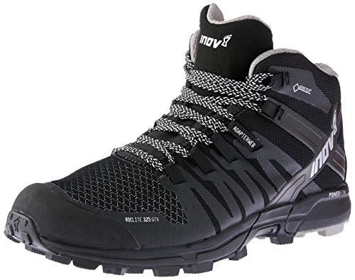 Inov-8 2017 Women's Roclite 325 GTX Trail Running Shoe - Black/Grey - 000561-BKGY-M-01 (Black/Grey - M7 / W8.5)