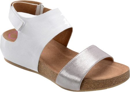 Open Casual Anthracite Seeley White Sandals Comfortiva Womens Strappy Toe SvnExwWgBq