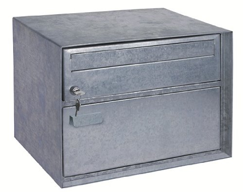 Rottner 4673 Distel XL Swiss Letter Box with Parcel Compartment Comsafe