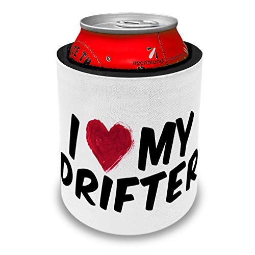NEONBLOND I heart love my Drifter Slap Can Cooler Insulator Sleeve