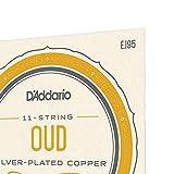 D'Addario EJ95 Silver Plated Copper Oud String