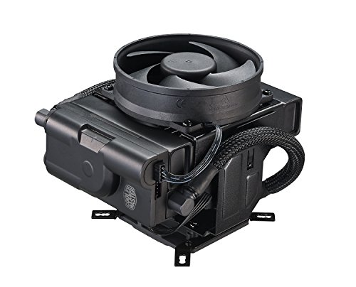 Vertical Cpu Tower (Cooler Master MasterLiquid Maker 92 CPU Cooler, All-in-one Hybrid Liquid Cooler, 92mm Fans, Vertical and Horizontal Positions)