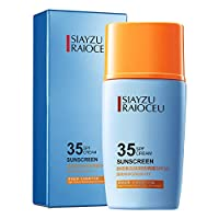 Light Texture Safe And Mild Moisture Sunscreen Cream, Sun Block UV Care SPF 35+ PA+++ Sunscreen Lotion, Resistant UVA And UVB Hydrating Soothing Cream, 45g