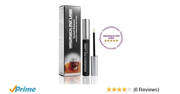 3a4dafe7c3f Amazon.com: HAWRYCH MD Lash Boost Eyelash Enhancing Serum - Eyelash  Enhancer for Longer Lashes Thicker Lashes and Fuller Lashes - Natural Lash  Conditioner ...