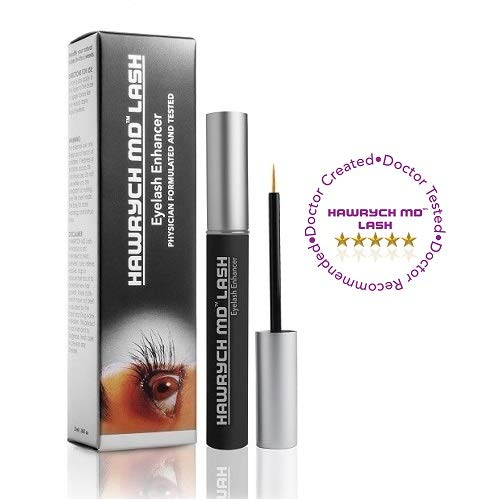 HAWRYCH MD Lash Boost Eyelash Enhancing Serum - Eyelash Enhancer for Longer Lashes Thicker Lashes and Fuller Lashes - Natural Lash Conditioner and Eyelash Booster - Eyelashes Beauty Product - 2 ML