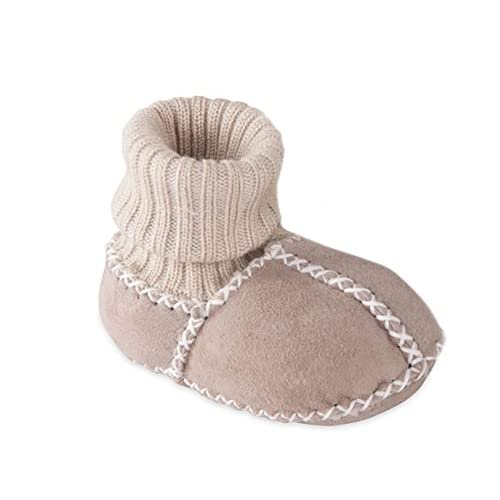 discount Fellhof Baby Booties 100% lambs sheep wool leather fur cotton for cheap