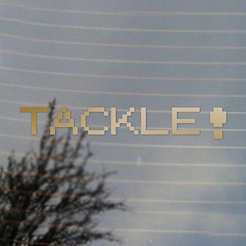 Tackle Pocket Vinyl Decal (Gold) (Gold Tackle)