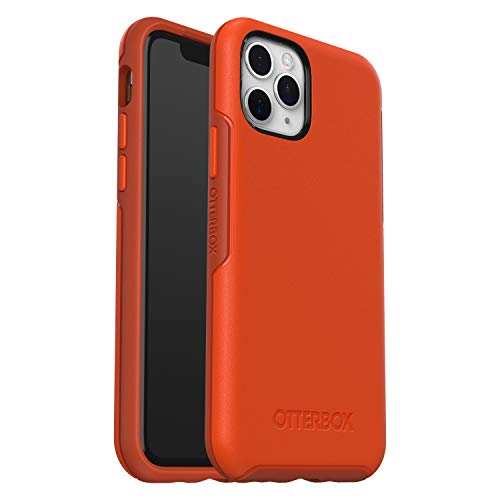 OtterBox Symmetry - Funda Anti-Caídas Fina y elegante para Apple iPhone 11 Pro, naranja