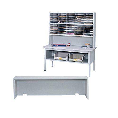 Safco Home Office Mailroom Storage E-Z Sort Riser - Gray