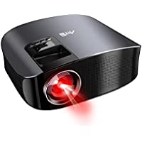 Video Projector, Artlii Overhead Projector For Football Match Home Theater Movie Projector LCD Multimedia For Home Entertainment Games, Football Matche for Family or Party, Black