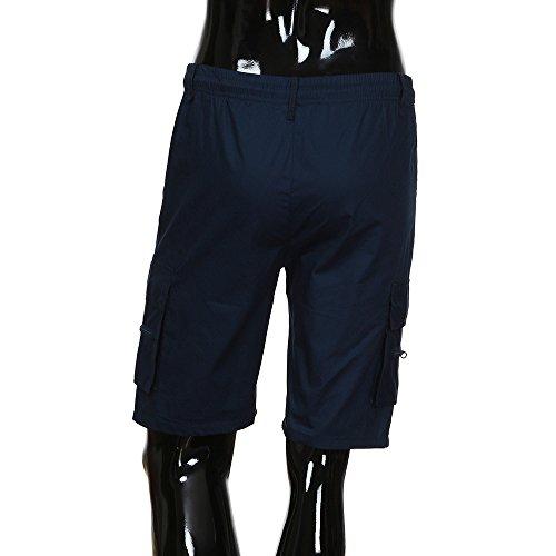 Scuro Kaki Pantaloncini Sportiva Ttmall Navy Casual Verde Nero Tuta tasca Cotone Dettaglio Estate Multi 100 Blu Beige Uomo Sciolto awH6qw