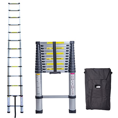 Light Aluminium Step Ladder in US - 8