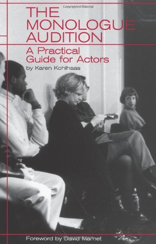 Books On Acting in Amazon Store - The Monologue Audition: A Practical Guide for Actors