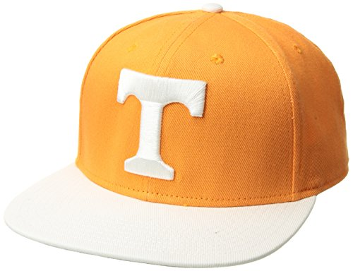 NCAA Tennessee Volunteers Gallant OTS Varsity Snapback Adjustable Hat, One Size, Vibrant Orange