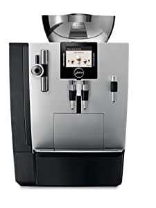 Jura 16367 IMPRESSA XJ9 Automatic Coffee Machine, Brilliant Silver