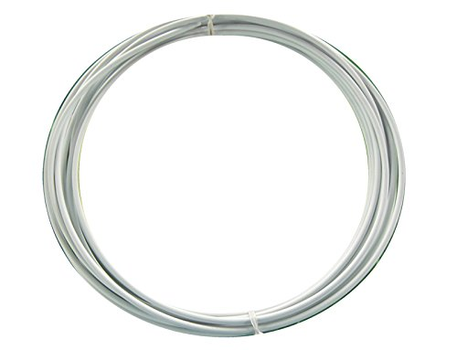 Sunlite SIS Cable Housing, 4mm x 25ft, White by Sunlite