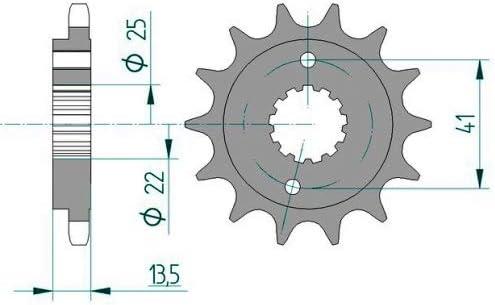 DID Kettensatz Stahl passend f/ür Honda XL600 V Transalp Bj.1995 15-47-118 DID525VX Endlos PD06