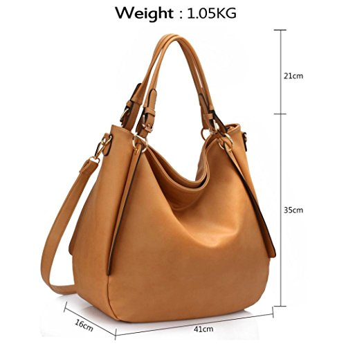 Folder Sale LeahWard Faux Ladies Clearance Leather Soft CW448 Women's Handbags Nude Bags Shoulder Hobo A4 Hobo PvCrwPq1d