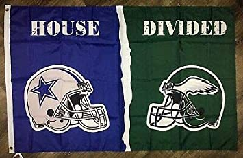 Your Teams House Divided Football Helmets with Logos