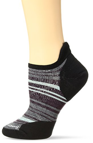 SmartWool Light s Black Striped PhD Micro Run Women' Elite r6qICrU