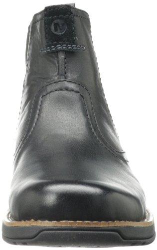 Merrell Mens Sfären Pull Boot Svart