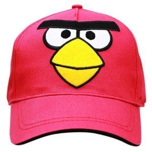 Angry Birds Kids Baseball Cap Red Bird (Angry Birds Red)
