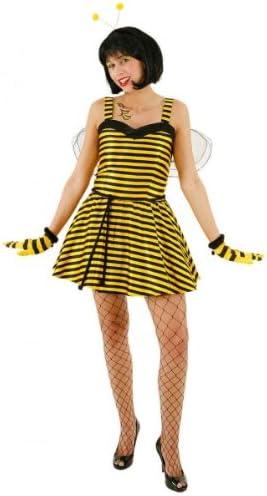Disfraz sexy vestido de la abeja Maya con enaguas y las alas Gr ...