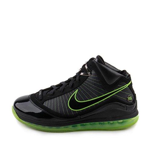 Nike Mens Air Max Lebron Vii Svart / El Grönt Läder